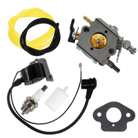 Rebuild Universal repair kits Carburetor for 51 55 Rancher Chainsaw WT 170 503281504 Ignition Coil