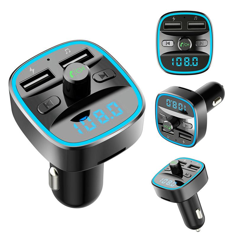 2019 Bluetooth V3.0 FM Transmitter MP3 Player USB Drive Car Auto Radio Handsfree