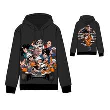 Anime  DRAGON BALL Cotton Cosplay Hoodies Standard Hooded Winter Seragaki Aoba Kid Goku Tops Unisex Sweatshirts