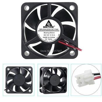 2pcs lot Gdstime DC 12V 2Pin 5cm 5020 50mm 50x50x20mm Brushless Heatsink Cooling Cooler Fan 5pcs gdstime 50mm 50x50x15mm fan 5015 dc 24v cooling fan 2pin 5cm pc laptop computer industrial cooler fan heatsink fans