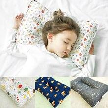 Детская подушка для младенцев, для малышей, для детей, для придания формы, для предотвращения плоской головы, милые постельные принадлежности, подушки для защиты, милый Принт