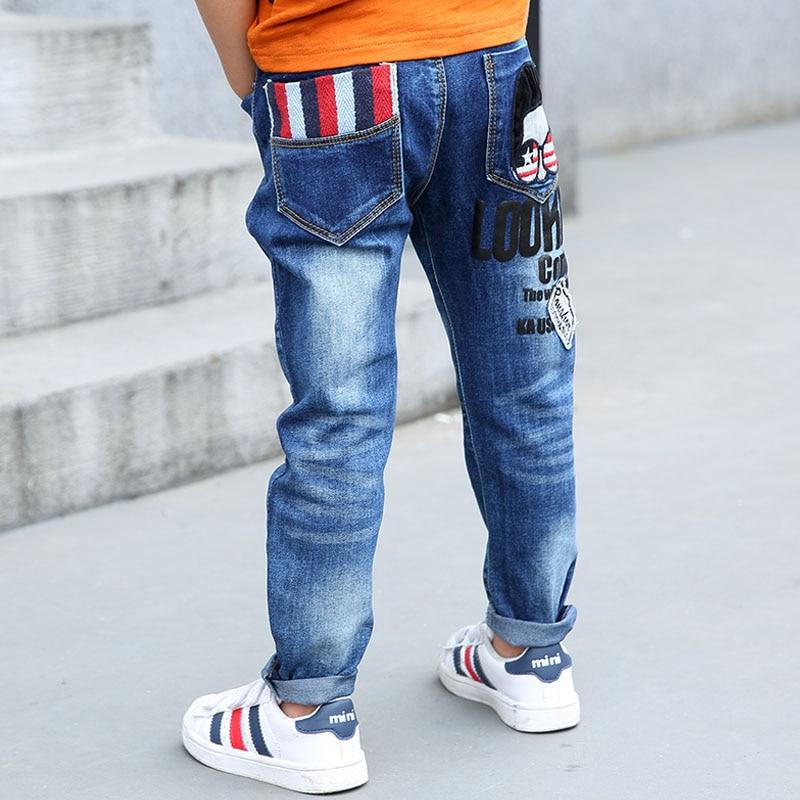 Boys Jeans new kids straight leg blue dark denim ages 3-12