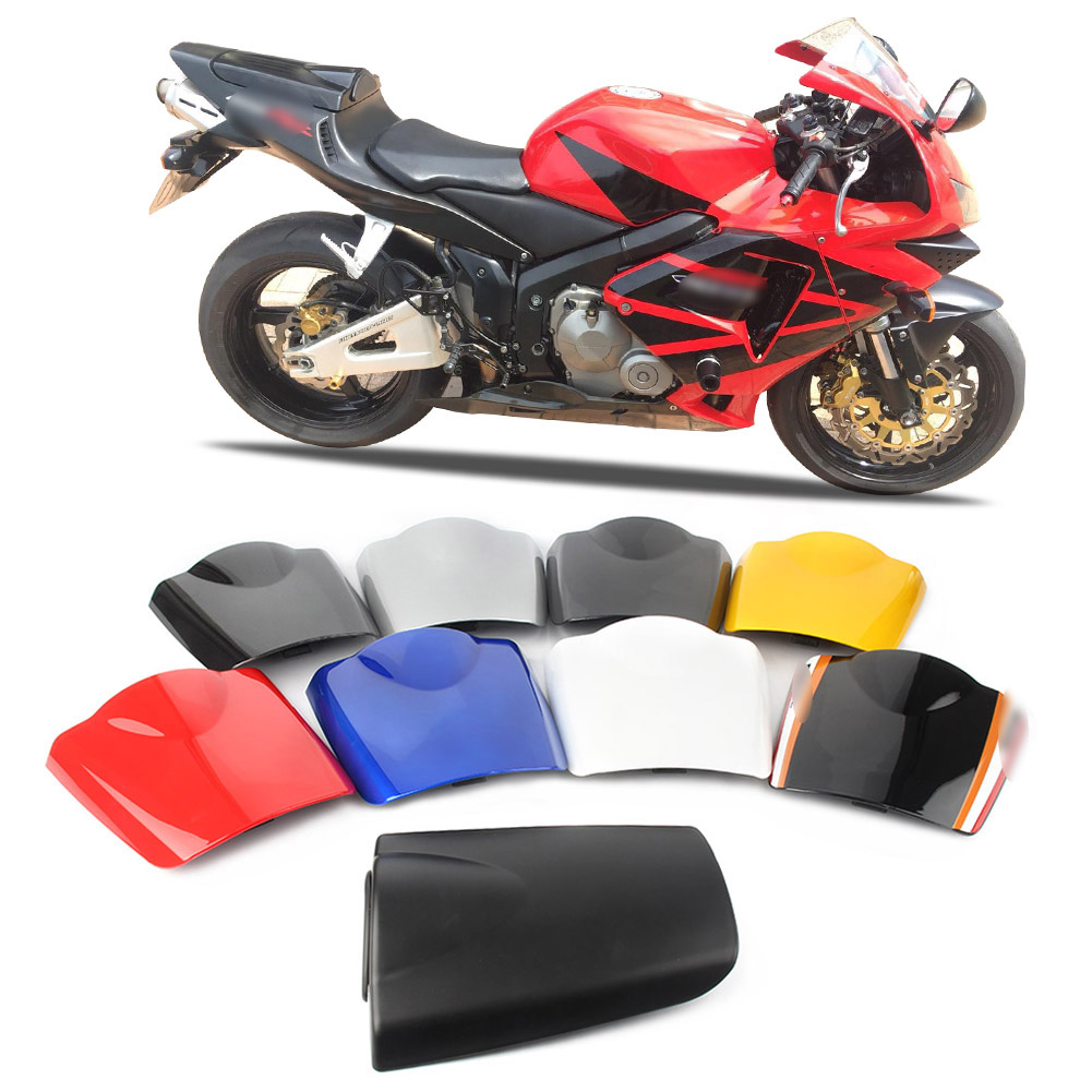 CBR600RR F5 Rear Pillion Passenger Cowl Seat Back Cover For Honda <font><b>CBR</b></font> <font><b>600</b></font> RR F5 2003 2004 <font><b>2005</b></font> 2006 image