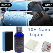1 Uds 30ML 10H PRO antioxidante Nano cristal dureza alto brillo revestimiento de coche Kit Anti rayado polaco pintura sellador