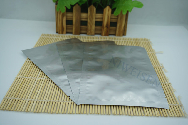 9e1abf247f 30x40cm Open top purely foil bag