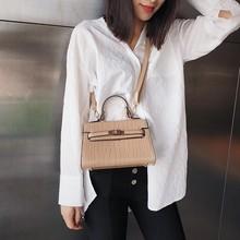 Luxury Handbags Women Bags Designer 2019 Alligator Clutch Leather Purse