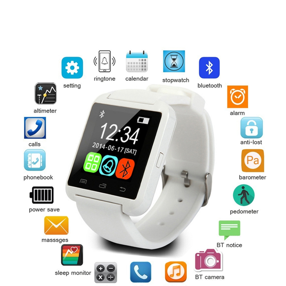 Top Brand Smart Watch Men woman for Samsung HTC xiaomi LG htc meizu honor meizu one plus sony oppo android phone Sports Watches htc one e9 plus delicate rose
