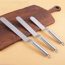 Инструменты для украшения торта из нержавеющей стали инструменты для выпечки и кондитерских изделий портативная лопатка для крема аксессуары для масла торта Кухонные гаджеты