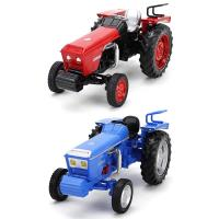 Mini Alloy Tractor Vehicles Mini Gift For Boys Farmer Truck Engineering Car Model Classic Toy