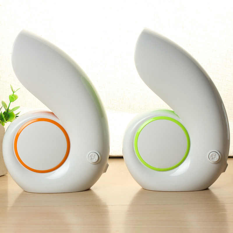 Hot Mini USB Portable Air Fan Desktop No Leaf Bladeless Cooling Conch For Gift For Mother Mini Fan USB Fan