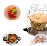 Filet de cuisson pliable à la vapeur, outil de cuisine 3