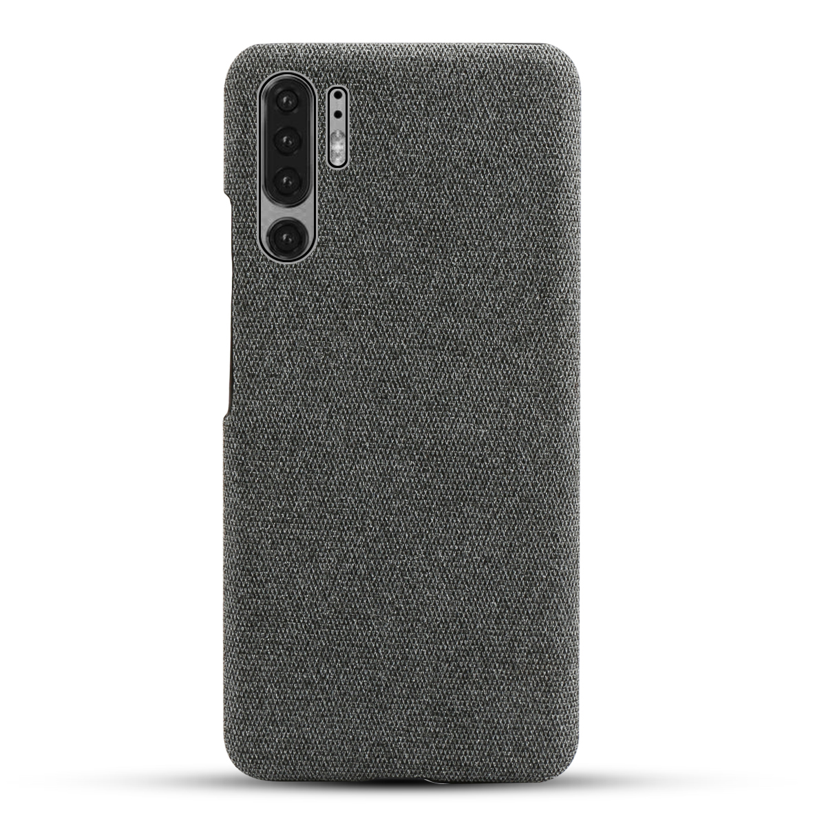 For Huawei P30 Pro P30 P30 Lite Case Slim Retro Fabric Woven Cloth Anti Scratch Hard PC Back Cover For Huawei P30 Pro Case Funda in Wallet Cases from Cellphones Telecommunications