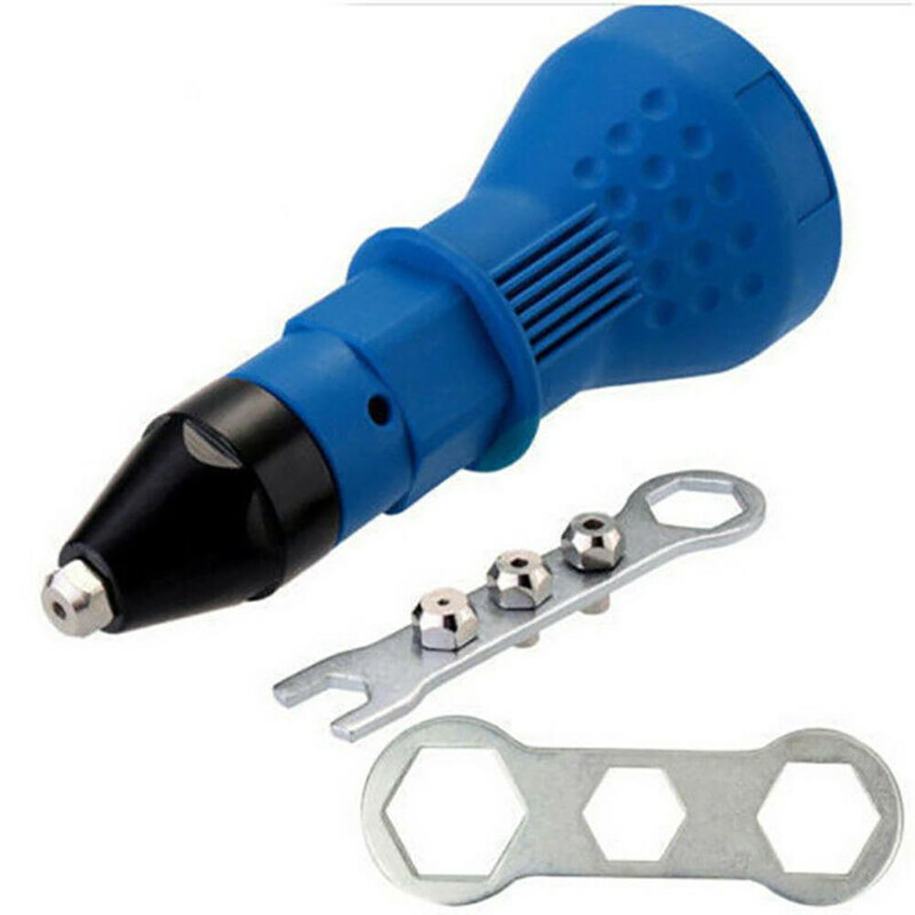 AKDSteel Professional Electric Rivet Nut Adaptor Cordless Power Drill Tool Kit 18*6.5*6.5CM