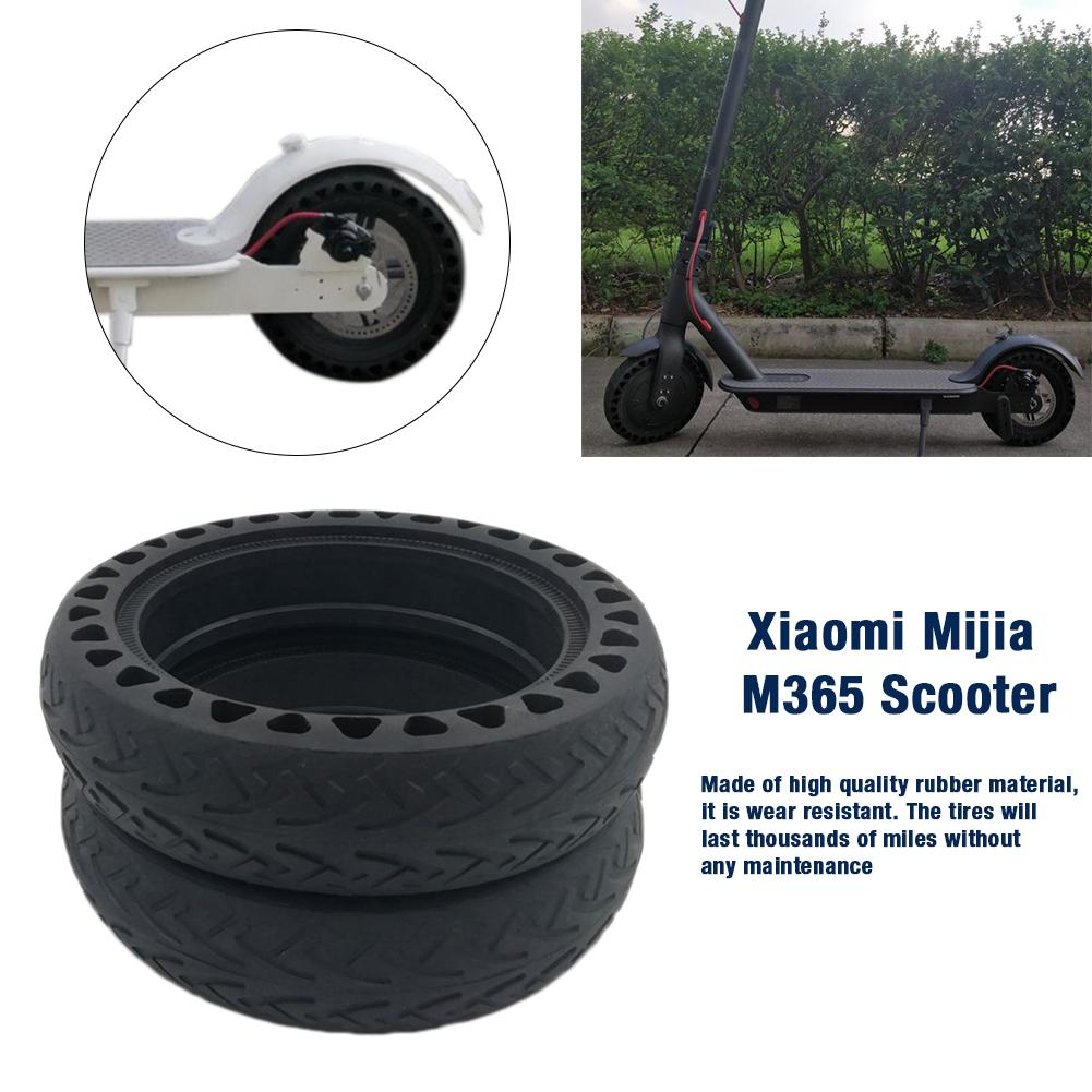 Image 4 - Solid Tire Tubeless Drilled Scooter Replacement Tire For Xiaomi M365 Electric Scooter 8.5 Inches Solid Tire Electric Scooter-in Skate Board from Sports & Entertainment