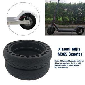 Image 4 - Solid Tire Tubeless Drilled Scooter Replacement Tire For Xiaomi M365 Electric Scooter 8.5 Inches Solid Tire Electric Scooter
