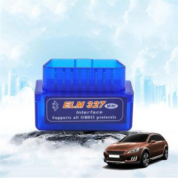 Super Mini ELM327 V2.1 OBD2 II Car diagnostic equipment Bluetooth Auto Scanner Portable Car ELM 327 Tester Diagnostic Tool image