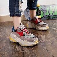 Модная брендовая женская повседневная обувь; замшевая кожаная обувь на платформе; женские кроссовки; Женская Белая обувь инструкторов; femme;