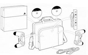 Image 5 - PS4 الاكسسوارات تلعب محطة 4 المقود حقيبة كيس محمول العادي PS4 لعبة وحدة التحكم حقيبة التخزين للبلاي ستيشن 4 لعبة فيديو