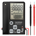 MUSTOOL MT77 Large Screen Smart Digital Multimeter Voltage Tester 3-Line Display Fully Auto-Range True RMS 6000 Counts DMM