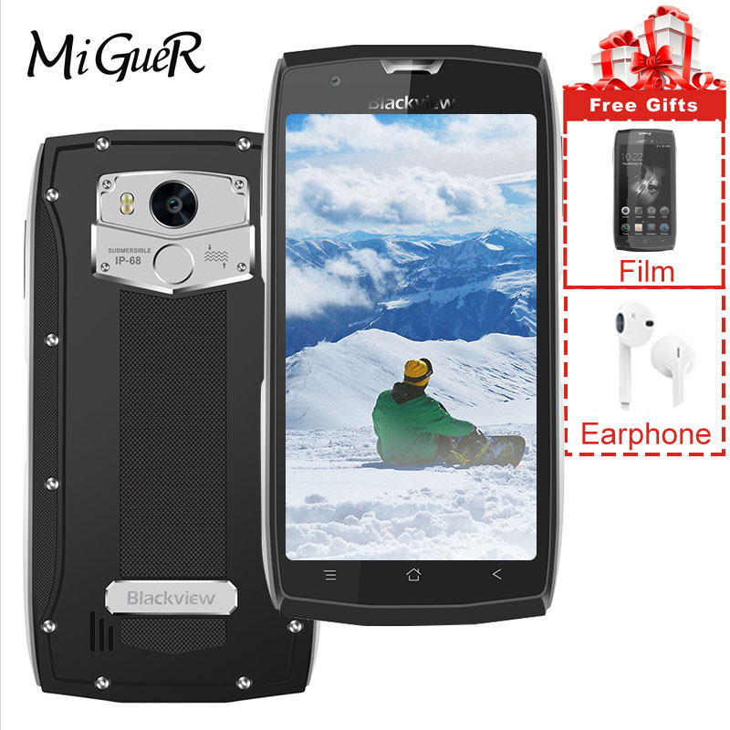 Blackview BV7000 IP68 Waterproof Smartphone 16GB 2GB Adaptive Fast Charge Fingerprint Recognition
