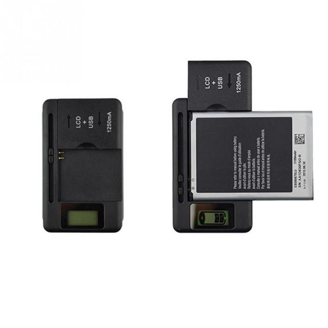 EU/US PLUG Universal Mobile Battery Charger USB-Port LCD Indicator Screen For Cell Phones Smart Charger