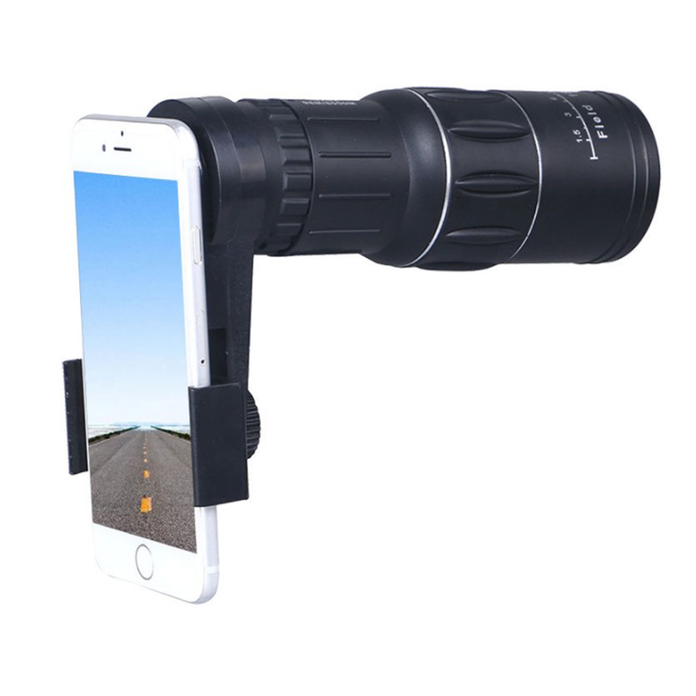 16x Hd Universal Outdoor Optical Monocular Telescope Zooming Camera Phone Lens Durable In Use