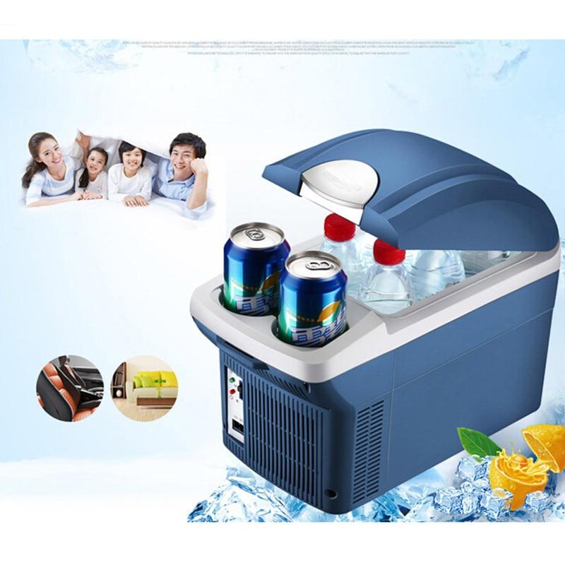 Refrigerator Car Refrigerator 8L 12V Mini Fridge Vehicle Auto Refrigerator Travel Nevera Portatil Car