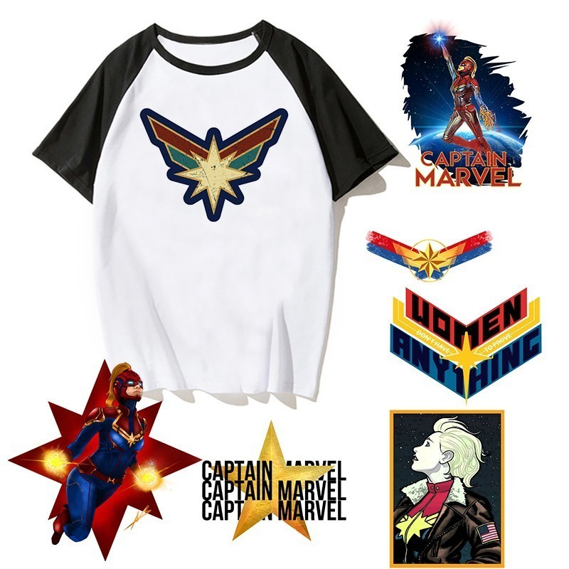 Newest Carol Danvers Captain Marvel 2019   T     Shirt   Men Tshirt Boy   T  -  shirt   America Camisas Men/women Male Streetwear Hiphop Clothes