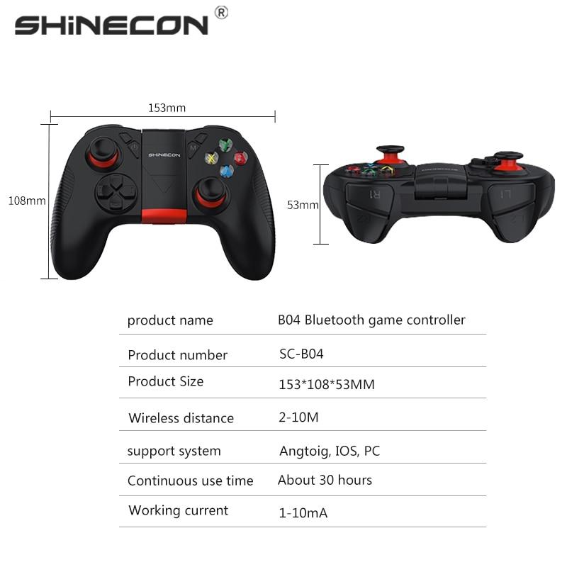 Wireless Bluetooth Gamepad Fernbedienung Spiel Controller B04 für PUBG Mobile