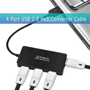4 in 1 USB 2.0 Hub Splitter US