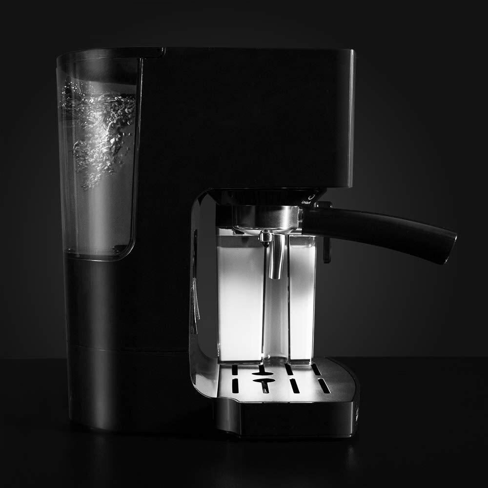 Cecotec power coffee Instant-CCino 20 итальянская Экспресс-Кофеварка 1450 Вт полуавтоматическая мощность включает в себя резервуар для молока