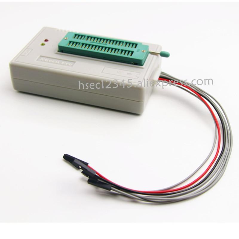 100% original V8 51 TL866ii Plus programmer+10 Adapter XGecu minipro TL866  programmer socket NAND programmer replace TL866cs/A