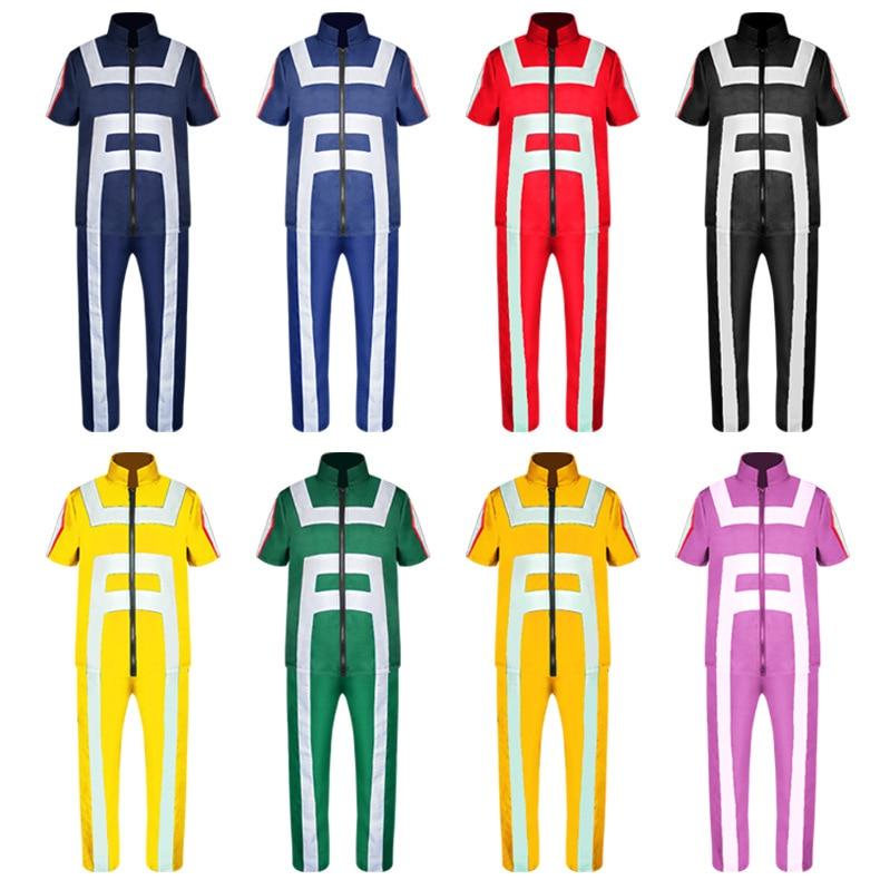 S 2XL Прямая доставка Оптовая продажа мой герой Academy Boku no Hero Academy Kohei Horikoshi спортивные костюмы косплей костюм