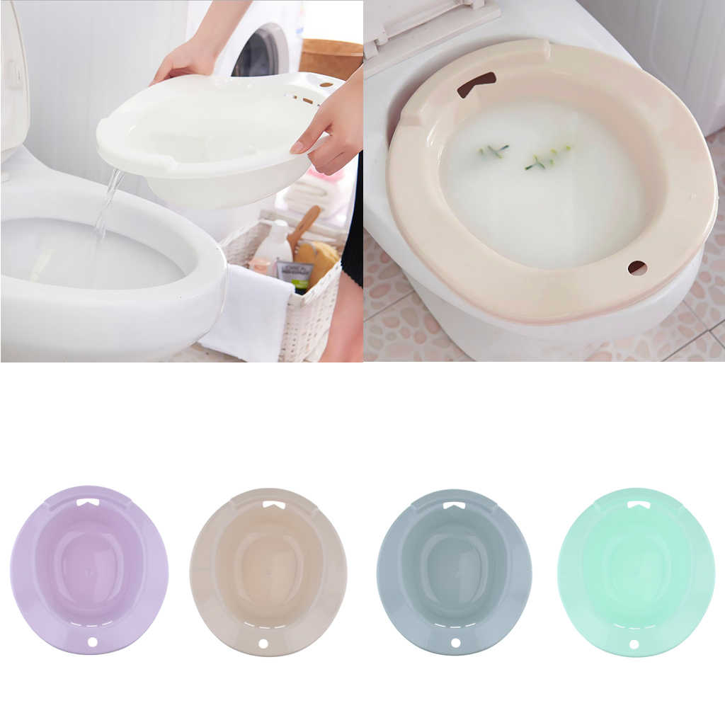 Durable Non Toxic Plastic Hemorrhoids Patient Elderly Men Pregnant Women Toilet Sitz Bath Tub Hip Basin Bidet Feminine Hygiene Product Aliexpress