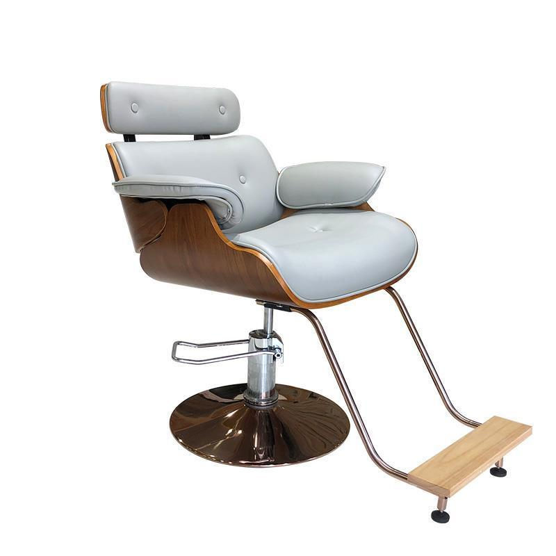 Lfy Moderne Designe Barber Swivel Leder Executive Computer Büro Dekoration Gaming Salon Stuhl Schönheit Synthetische Metall Friseurstühle
