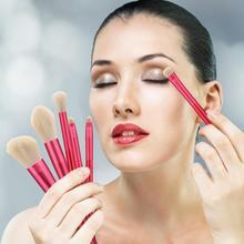 12 шт. набор косметических кистей основа, смешивание румян тени для век макияж инструменты основа теней кисточка для губной помады набор