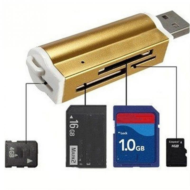 All in One all in 1 USB Memory Card Reader Adapter for Micro SD SDHC MMC TF S8S7