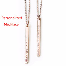 b2032d720 Pk Bazaar personalized name necklace 3 colors personalized custom na ...
