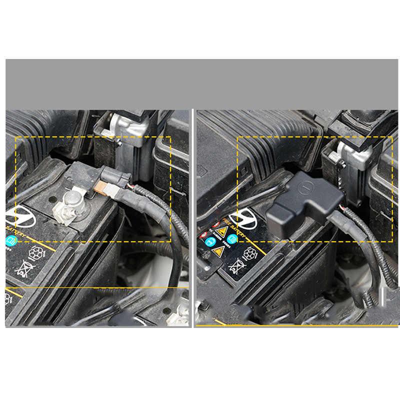 רכב סוללה שלילי הגנת כיסוי פלסטיק מדבקת עבור KIA CEED JD ריו גאווה K2 UB K3 רונדו Carens RP בוקר picanto TA