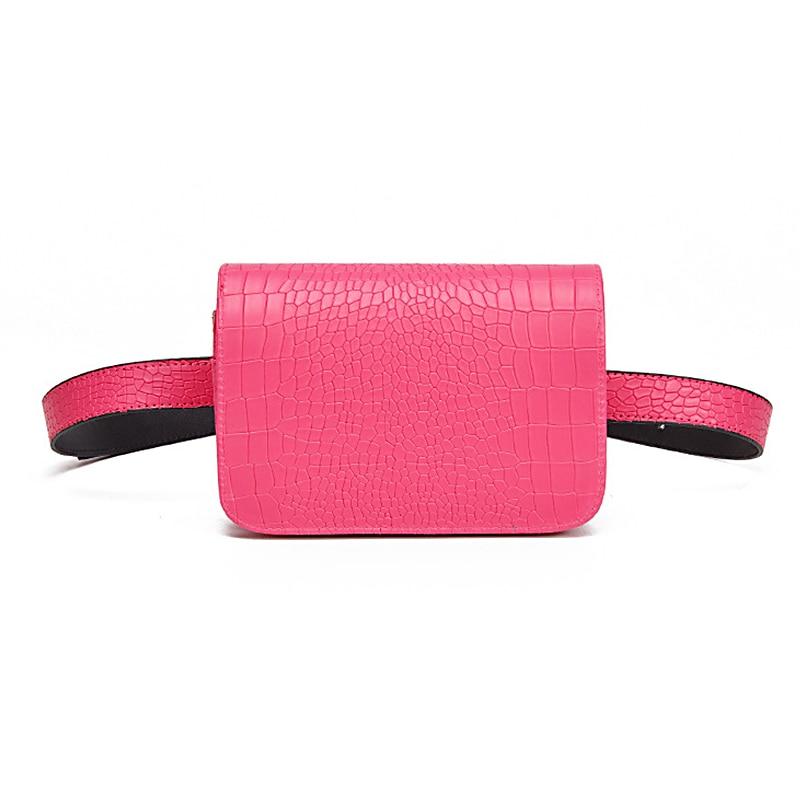 Aliligator Muster Taille Packs Frauen Leder Pu Verstellbaren Gürtel Tasche Taille Pack Brieftasche Telefon Beutel Damen Verkäufer Arbeit Taschen