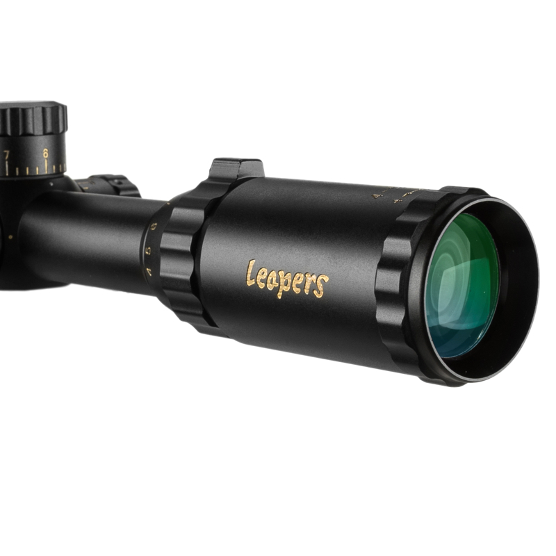 Image 5 - LEAPERS 4 16X50 Riflescope Tactical Optical Rifle Scope Red Green Blue Dot Sight Illuminated Retical Sight For Hunting Scope-in Riflescopes from Sports & Entertainment