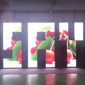 Image 2 - 500x500mm indoor rgb led display screen p3.91 indoor die cast aluminum cabinet for rental advertising video wall led screen