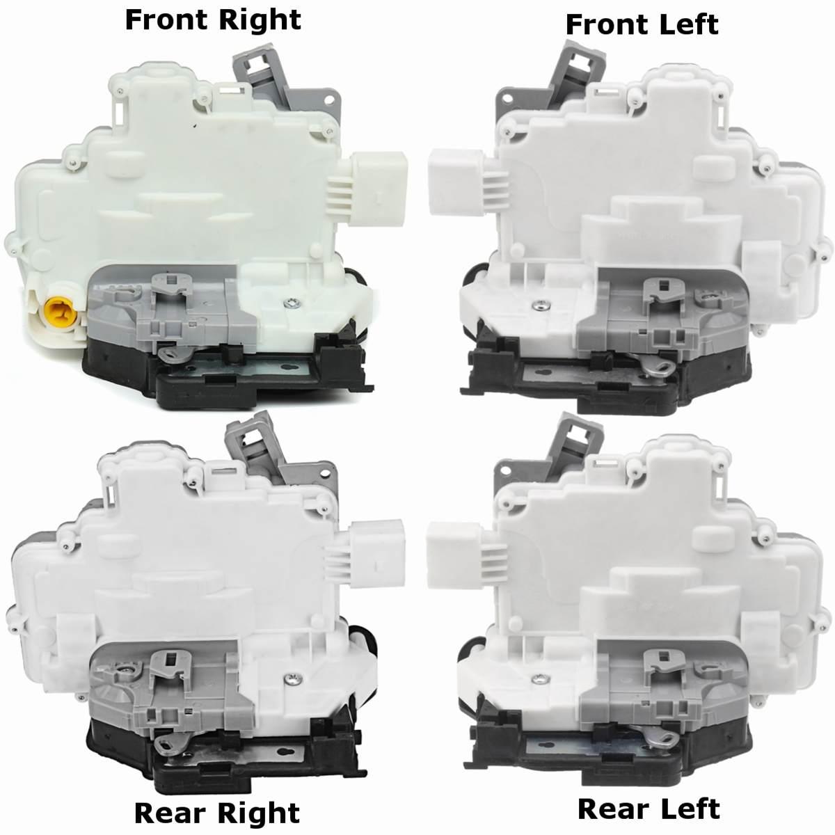 Front Left Door Lock Actuator Mechanism 7 Pin for VW Jetta MK6 2011-2014
