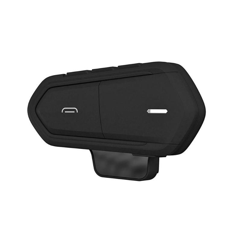 VODOOL Motorcycle Helmet Wireless Bluetooth Headsets Intercom Handsfree Interphone Headphone FM Radio MP3 With Mic For 2 Riders