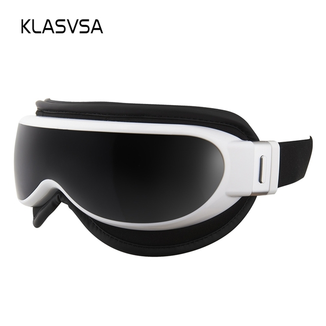 KLASVSA Electric Vibration Eye Mask Massager Far Infrared Heating Air Pressure Therapy Eyes Massage Muscle Stimulator Relaxation