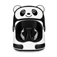 Панда новорожденный детский стульчик съемный лоток раздвижные колеса ребенок Booster сиденье высокий стул складной портативный детское кресл
