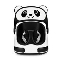 Panda Newborn Baby Seat Chair Detachable Tray Sliding Wheels Baby Booster Seat High Chair Foldable Portable Baby Booster Chair