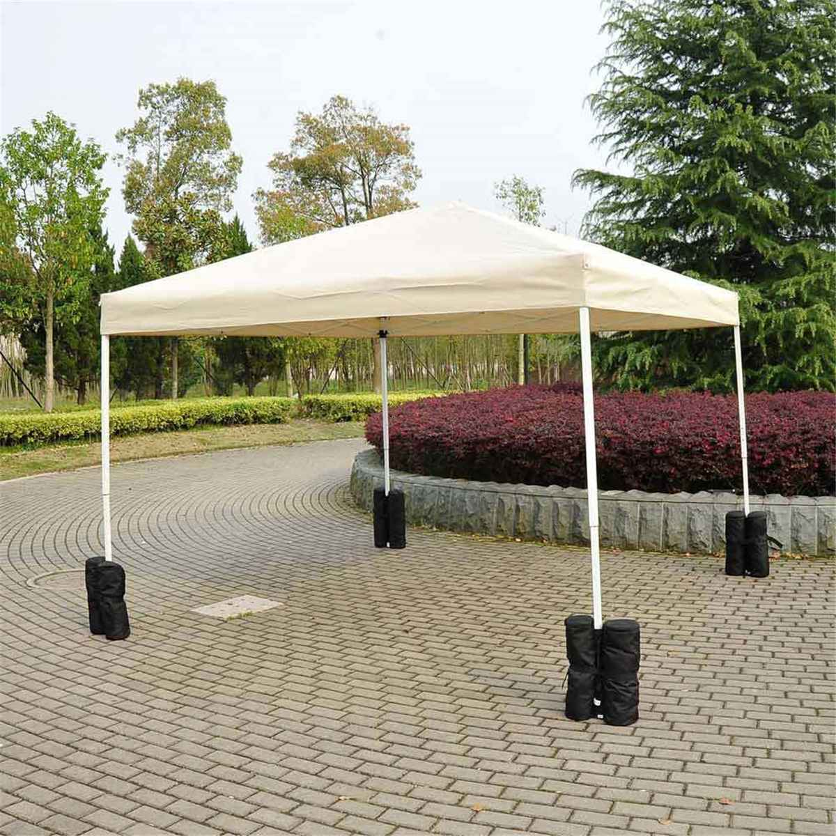 Outdoor Camping Tent Sand Bag Sunshade Canopy 4 Leg Weight Gazebo 600D Oxford Windproof Fixing Sandbag Tents Accessories