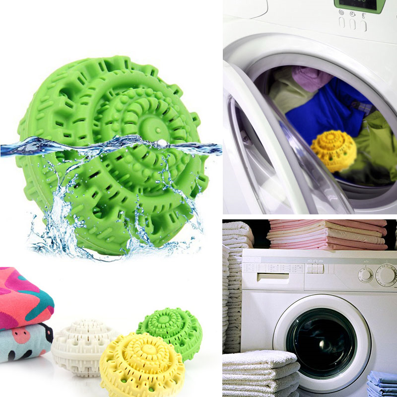 Washing Machine Laundry Filter Bag Green Laundry Balls