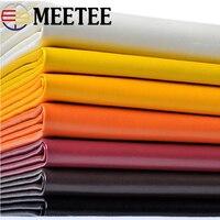 Meetee 50*136 см искусственная кожа ткань для шитья диванов, стульев, автомобильных сумок DIY кожаный материал